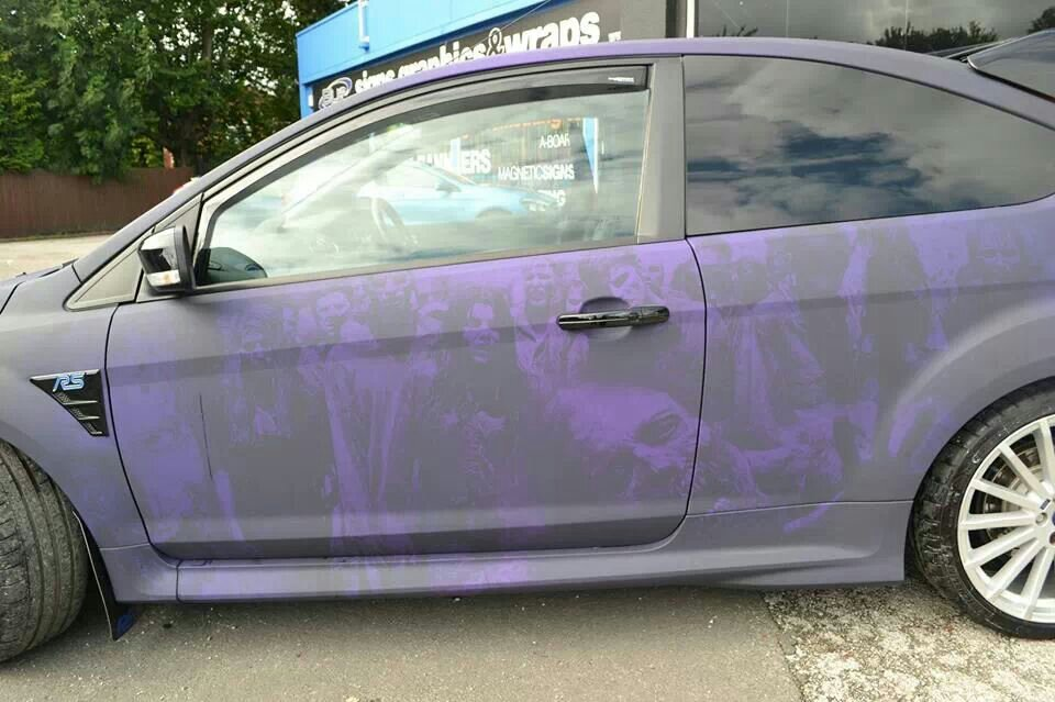 Blueprint nottingham zombie wrap on ford focus rs rs direct blueprint nottingham zombie wrap on ford focus rs malvernweather Image collections